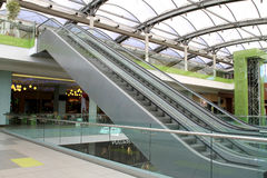 Empty shopping mall - Athens Stock Image
