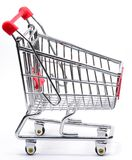 An empty shopping trolley Stock Photography
