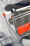 Empty shopping trolley Royalty Free Stock Photos