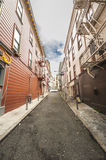Empty Side Street Stock Image