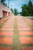 Empty sidewalk Royalty Free Stock Image