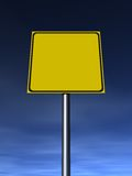Empty Sign Royalty Free Stock Photos