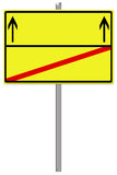 Empty sign Royalty Free Stock Photo