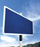 Empty signboard. For designer to advertise royalty free stock photography