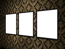 Empty signs Royalty Free Stock Images