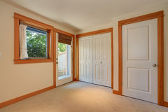 Empty simple entryway in apartment house Royalty Free Stock Image