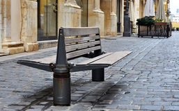 An empty sitting place Royalty Free Stock Photo