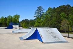 Free Empty Skateboard Park During Coronavirus Pandemic Stock Photography - 180328572