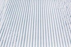 Empty ski piste background Royalty Free Stock Image