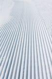 Empty ski piste background Stock Photography
