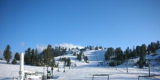 Empty ski patrol Royalty Free Stock Images