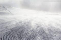 Empty ski slope Stock Photos