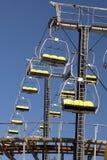 Empty Sky Lift Ride royalty free stock photos