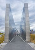 Empty Sky: New Jersey September 11 Memorial Stock Images