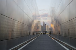 Empty Sky September 11 Memorial. September 11 Memorial Empty Sky in Jersey City, New Jersey Stock Images