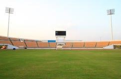 Small football stadium Stock Photo