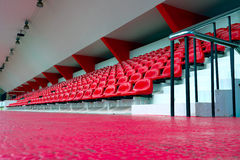 The empty small stadium Royalty Free Stock Photography