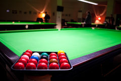 The snooker Royalty Free Stock Photo