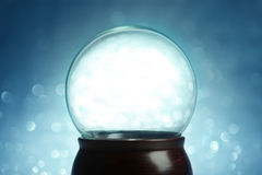 Empty snow globe Royalty Free Stock Images
