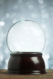 Empty snow globe Stock Photos