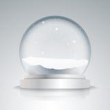 Empty snow globe Royalty Free Stock Photo