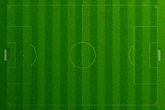 Empty soccer field grass Royalty Free Stock Photo