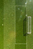 Empty soccer field grass. Texure royalty free illustration