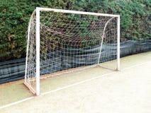 Empty Soccer Football Goal Royalty Free Stock Photos