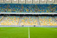Free Empty Soccerl Stadium Before A Football Match. Stock Photography - 57832042