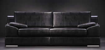 An empty sofa Royalty Free Stock Photos