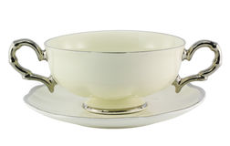Empty Soup Bowl Royalty Free Stock Images