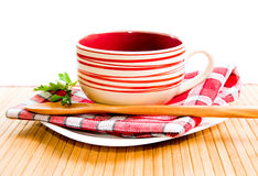 Empty soup-plate Royalty Free Stock Photography