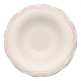 Empty soup plate Stock Image