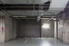 Empty space car park interior Royalty Free Stock Photos