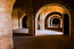 Empty space on fortress of Sousse. Royalty Free Stock Photos