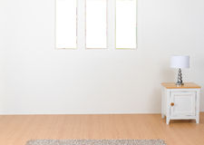 Empty space of the interior isolated royalty free stock photography