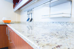 Empty space of the kitchen interior image Stock Image