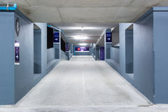 Empty Space in a Parking Stock Photography