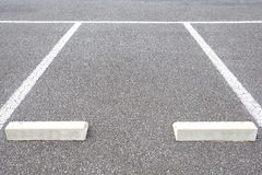 Empty Space in a Parking Lot. Background of Empty Space in a Parking Lot Stock Photography