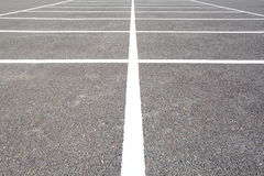 Empty Space in a Parking Lot Royalty Free Stock Images