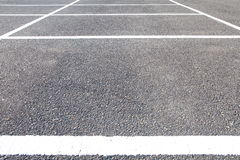 Empty Space in a Parking Lot Royalty Free Stock Photo