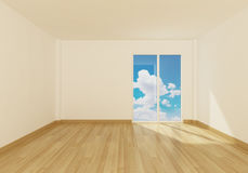 Empty Space room interior Royalty Free Stock Photo