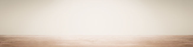 Empty space with wall and wooden floor royalty free stock image
