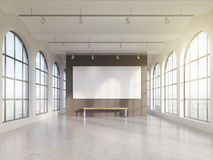 Empty spacious hall Royalty Free Stock Images