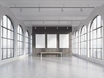 Empty spacious hall Stock Photos