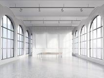 Empty spacious hall Stock Photo