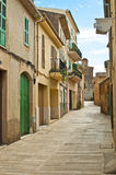 Empty spanish street Royalty Free Stock Images