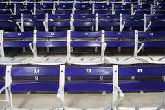 Empty spectator seats Royalty Free Stock Image