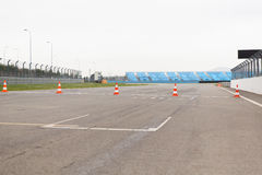 Empty speedway on stadium Stock Photography