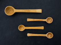 Empty spoons Royalty Free Stock Images
